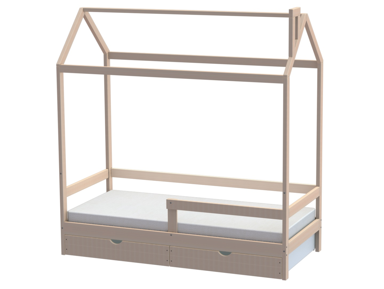 Домик-кроватка Fiabo (с бортом и ящиками) фото FullHD (0)