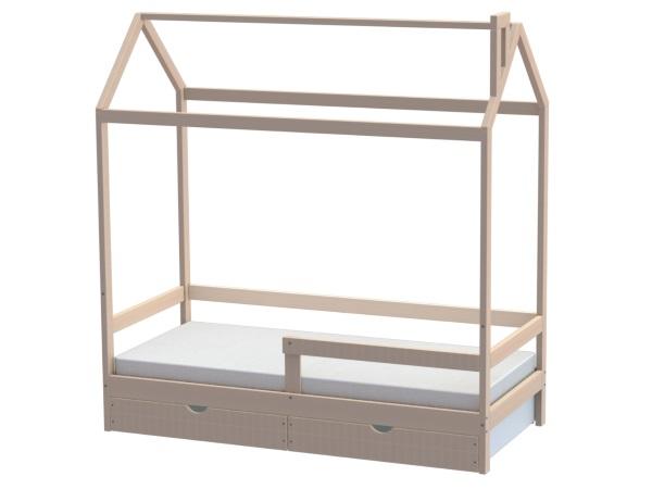 Домик-кроватка Fiabo (с бортом и ящиками) фото (0)