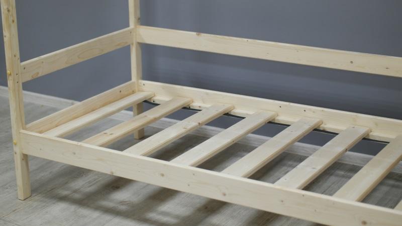Домик-кроватка Fiabo (с бортом) фото (3)