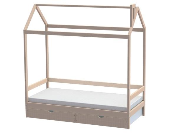 Домик-кроватка Fiabo (с ящиками) фото (0)