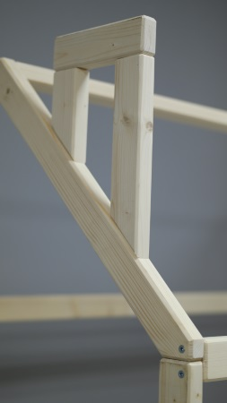 Домик-кроватка Fiabo фото (4)