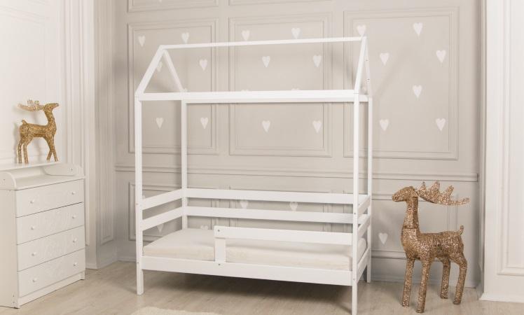 Домик-кроватка Giovane-1 (белый) фото (1)