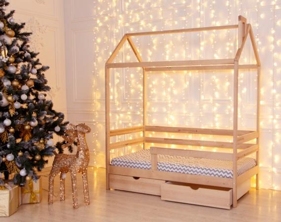 Домик-кроватка Giovane-1 (с ящиками) фото (1)