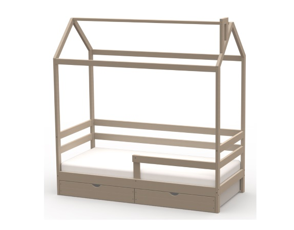 Домик-кроватка Giovane-1 (с ящиками) фото (2)