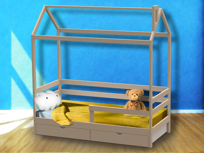 Домик-кроватка Giovane-1 (с ящиками) фото FullHD (0)