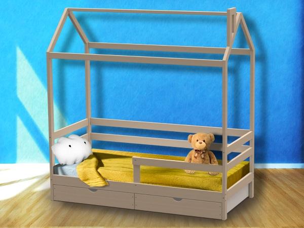Домик-кроватка Giovane-1 (с ящиками) фото (0)
