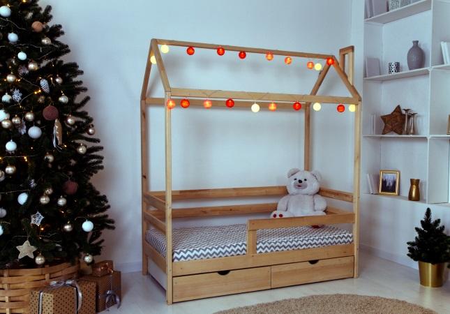 Домик-кроватка Giovane-2 (с ящиками) фото (1)