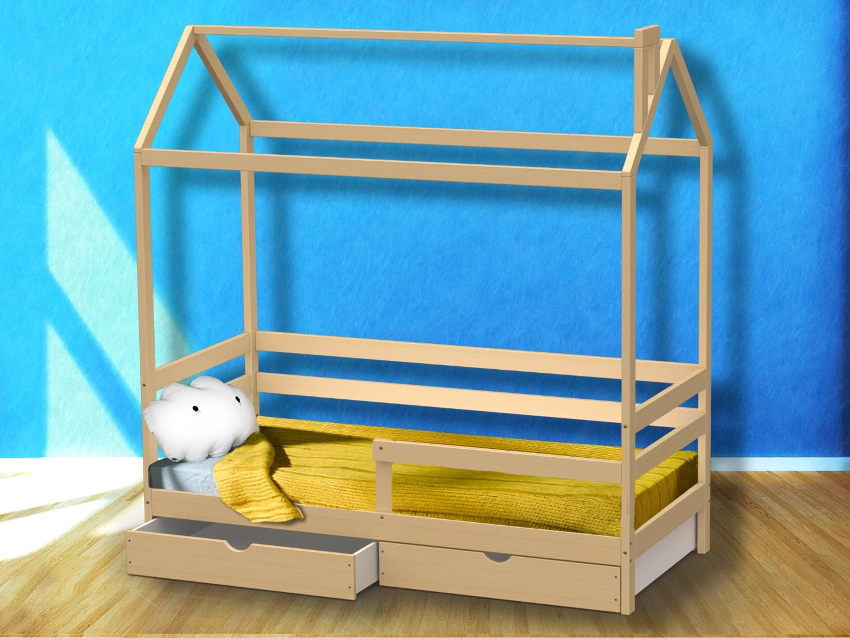 Домик-кроватка Giovane-2 (с ящиками) фото FullHD (0)
