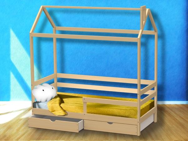 Домик-кроватка Giovane-2 (с ящиками) фото (0)