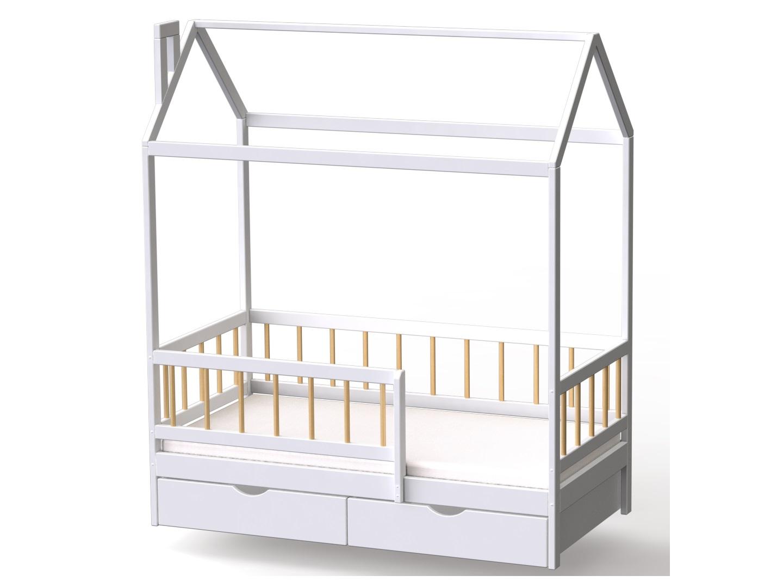 Домик-кроватка Infantile (с ящиками) фото FullHD (0)