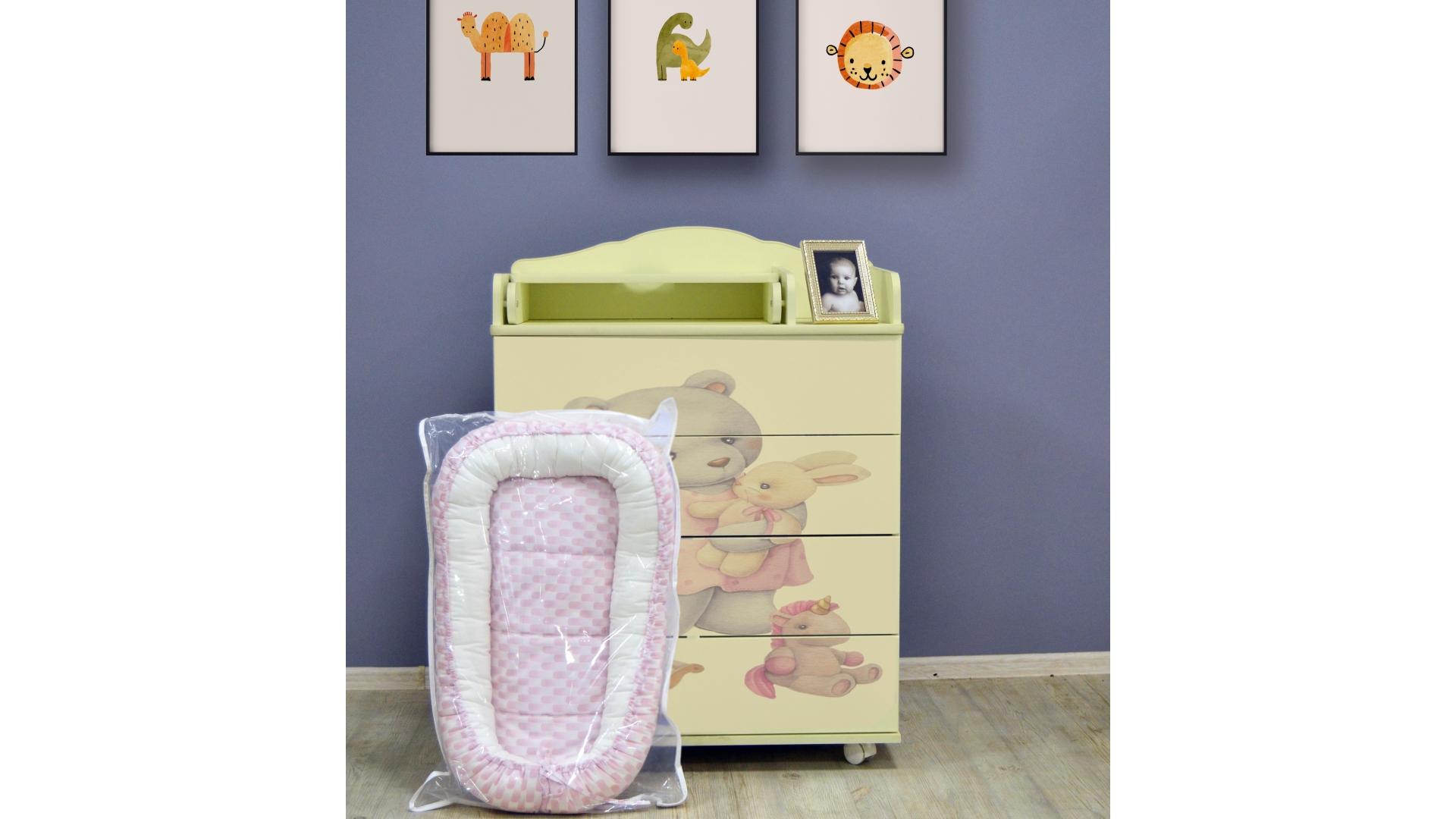 Комод в детскую Мариша (слон.кость) фото FullHD (0)