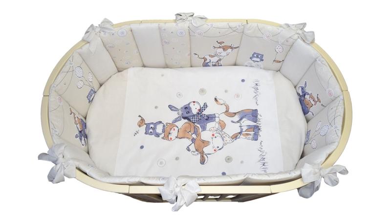 Комплект в кроватку Милка (6) фото (2)