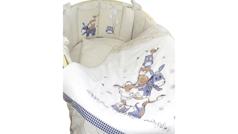 Комплект в кроватку Милка (6) фото (3)