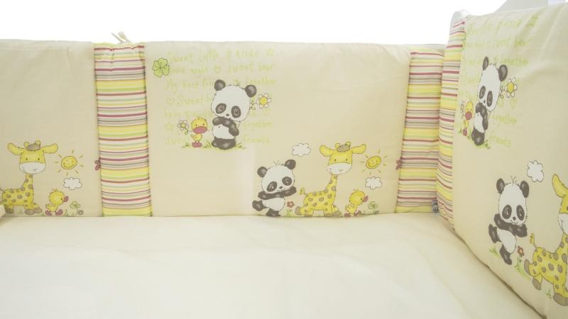 Комплект в кроватку Панда с друзьями (6) фото (4)