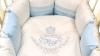 Комплект в кроватку Rich Family голубой (6) фото мни (3)