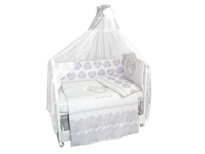 Комплект в кроватку Ажурный без вышивки (7) фото