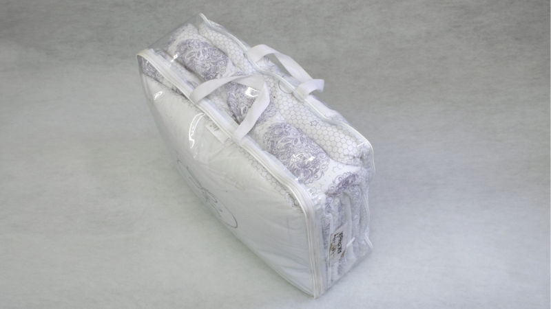 Комплект в кроватку Ажурный с вышивкой (7) фото (7)