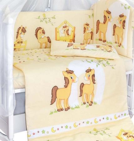 Комплект в кроватку Лошадки (7) фото (2)