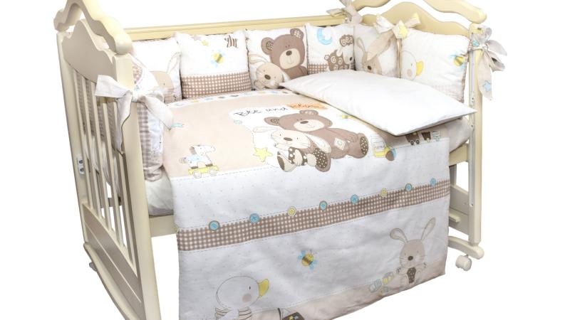 Комплект в кроватку Малыши (6) фото (1)