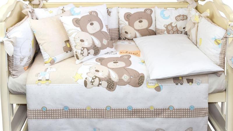 Комплект в кроватку Малыши (6) фото (2)