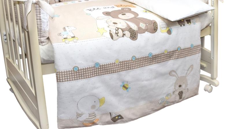 Комплект в кроватку Малыши (6) фото (4)