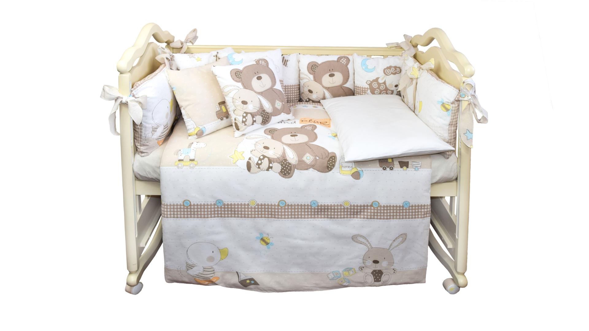 Комплект в кроватку Малыши (6) фото FullHD (0)
