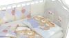 Комплект в кроватку Мишки под одеялом серый (6) фото мни (2)