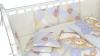 Комплект в кроватку Мишки под одеялом серый (6) фото мни (3)