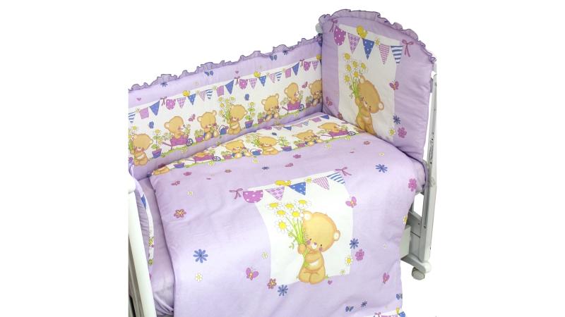 Комплект в кроватку Мишаня (6) фото (2)