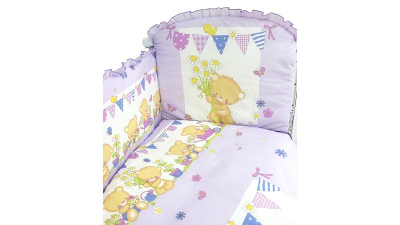 Комплект в кроватку Мишаня (6) фото (4)