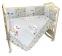 Комплект в кроватку Мусики-пусики (6) фото мни (1)