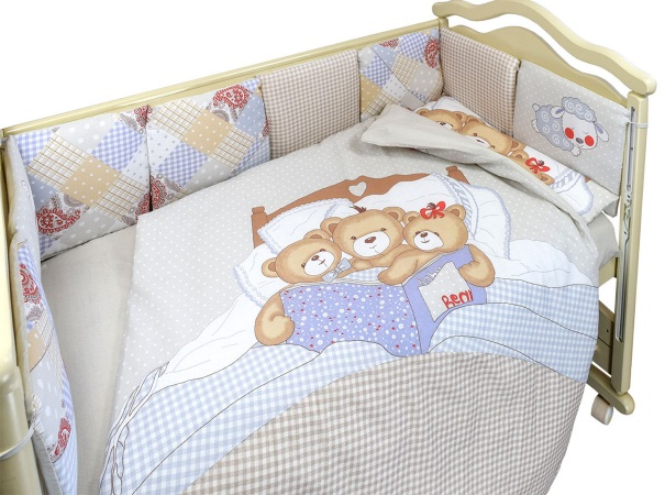 Комплект в кроватку Nice Family бежевый (4) фото (2)
