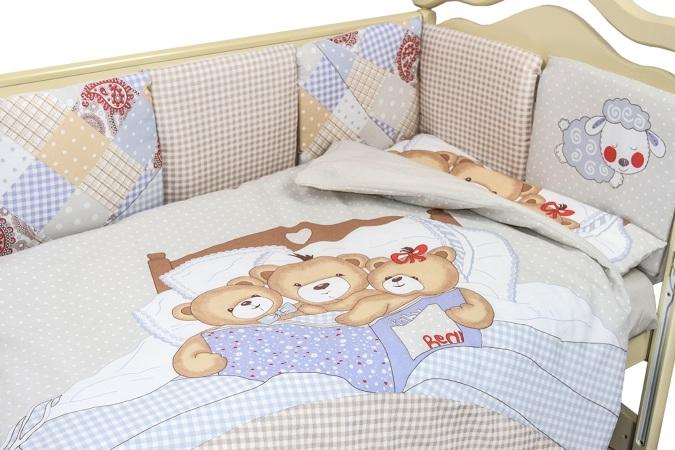 Комплект в кроватку Nice Family бежевый (4) фото (3)