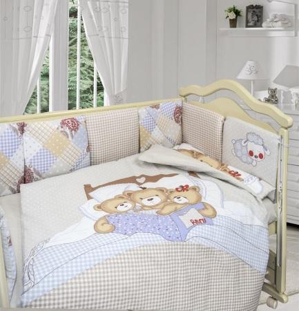 Комплект в кроватку Nice Family бежевый (4) фото (4)