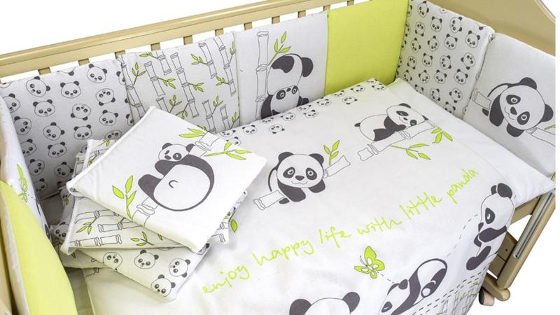 Комплект в кроватку Панды (4) фото (1)