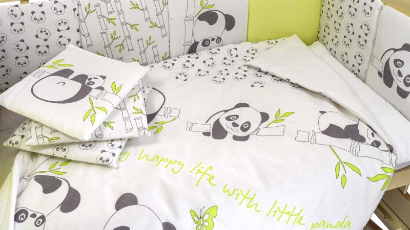 Комплект в кроватку Панды (4) фото (2)
