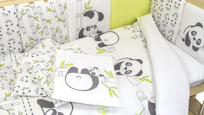 Комплект в кроватку Панды (4) фото (3)