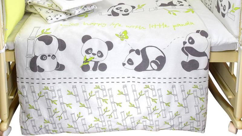 Комплект в кроватку Панды (4) фото (4)
