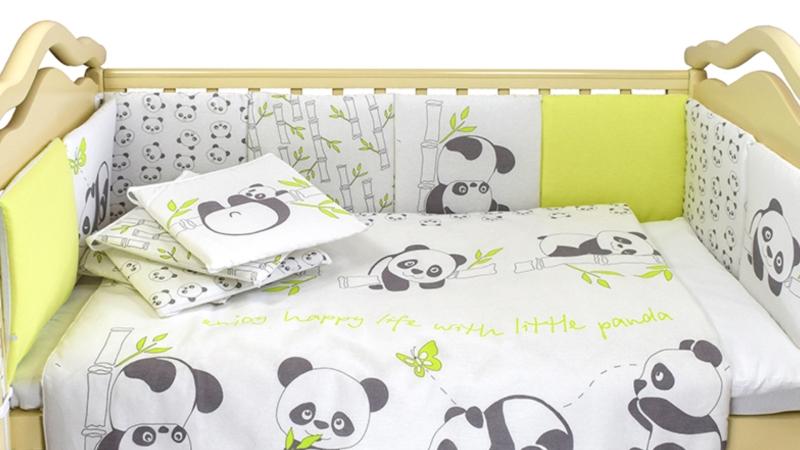 Комплект в кроватку Панды (4) фото (5)