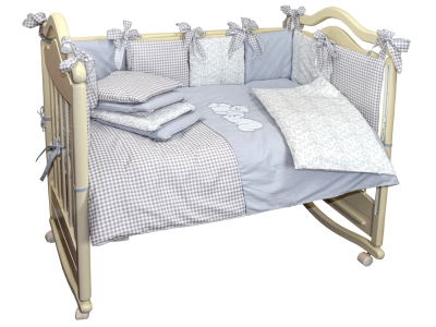Комплект в кроватку Скандинавский (4) фото