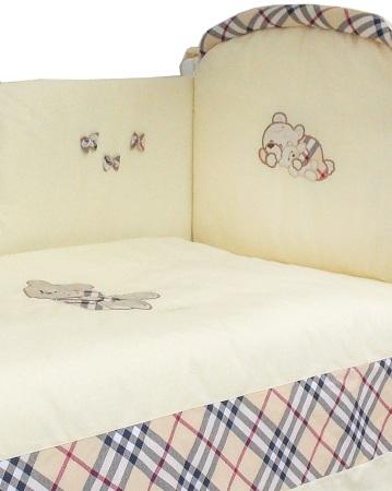 Комплект в кроватку Сливочные сны (6) фото (2)