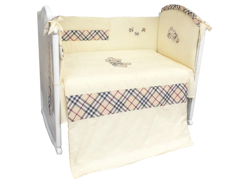 Комплект в кроватку Сливочные сны (6) фото FullHD (0)