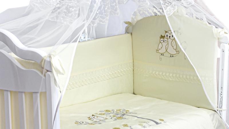 Комплект в кроватку Совушки (7) фото (2)