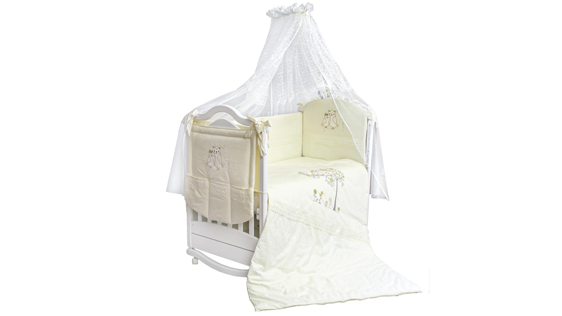 Комплект в кроватку Совушки (7) фото FullHD (0)