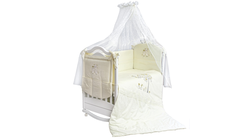Комплект в кроватку Совушки (7) фото (0)