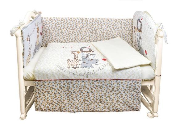 Комплект в кроватку Вечеринка маленького жирафика (4) фото (1)