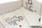 Комплект в кроватку Вечеринка маленького жирафика (4) фото мни (3)