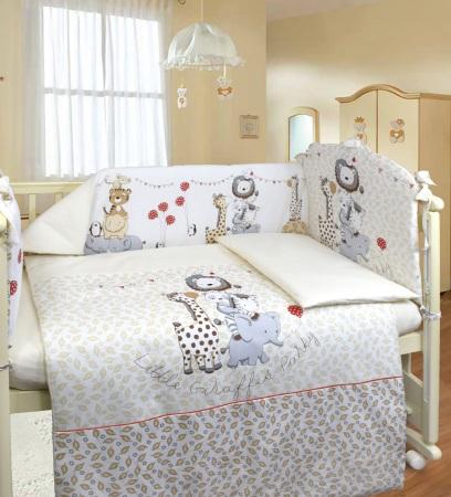 Комплект в кроватку Вечеринка маленького жирафика (4) фото (5)