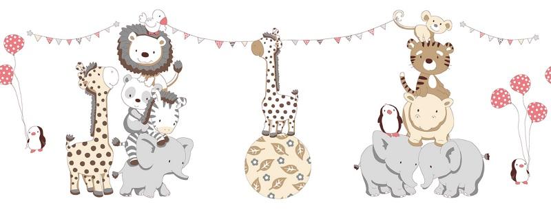 Комплект в кроватку Вечеринка маленького жирафика (4) фото (6)