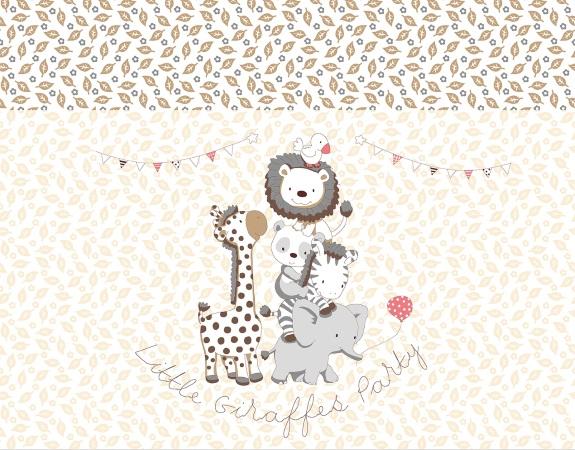 Комплект в кроватку Вечеринка маленького жирафика (4) фото (7)
